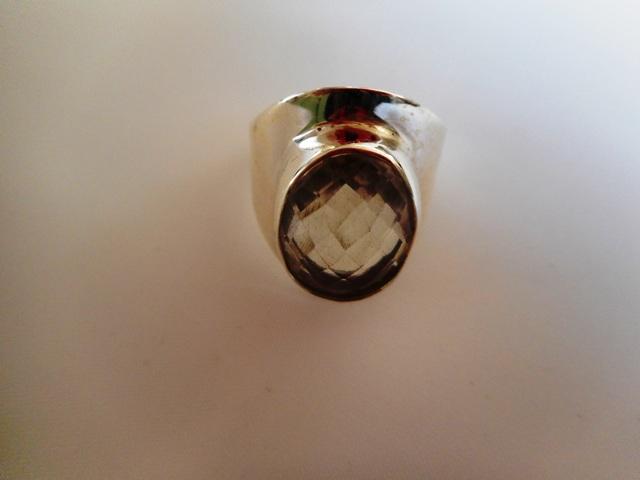 Bague Cristal de Roche T54