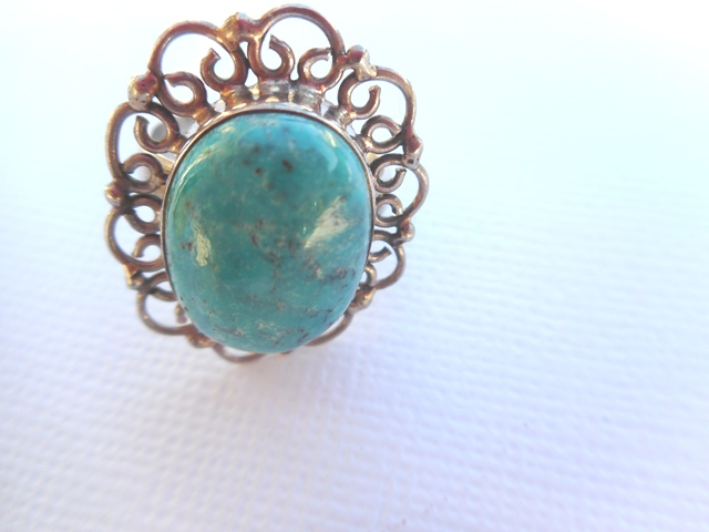 Bague Turquoise  T55